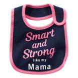 Baby Girl Carter's Printed Slogan Teething Bib