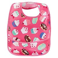 Baby Girl Carter's Patterned Feeding Bib