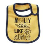 Baby Boy Carter's Solid-Trim Graphic Bib