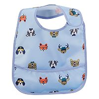Baby Boy Carter's Print Feeder Bib