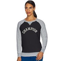Women's Champion Fleece Long Sleeve Graphic Top