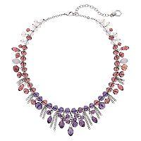 Simply Vera Vera Wang Purple Ombre Shaky Bead Necklace