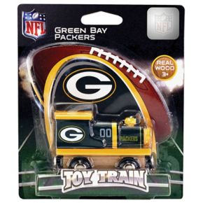 Green Bay Packers Baby Wooden Train Toy