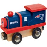 New England Patriots Baby Wooden Train Toy