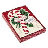 Hallmark 16-Count Diecut Candy Cane Boxed Holiday Cards