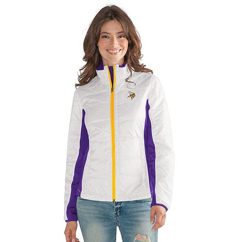 detailed look d8cc4 8e93a Women's Minnesota Vikings Grand Slam Jacket