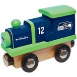 Seattle Seahawks Baby Wooden Train Toy