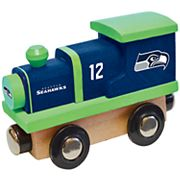 Seattle Seahawks Baby Wooden Train Toy