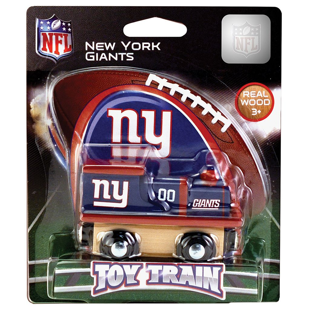 New York Giants Baby Wooden Train Toy