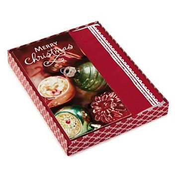 Hallmark 16-Count Elegant Ornaments Boxed Holiday Cards