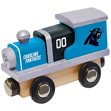 Carolina Panthers Baby Wooden Train Toy