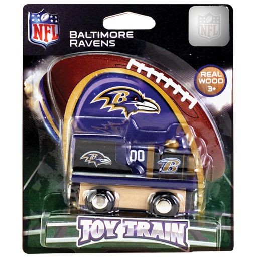 Baltimore Ravens Baby Wooden Train Toy