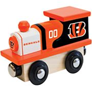 Cincinnati Bengals Baby Wooden Train Toy