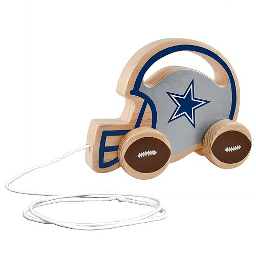 Dallas Cowboys Baby Push & Pull Toy