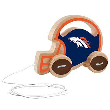 Denver Broncos Baby Push & Pull Toy
