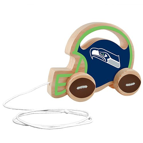 Seattle Seahawks Baby Push & Pull Toy