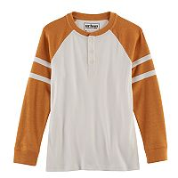 Boys 8-20 Urban Pipeline® Football Raglan Henley