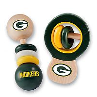Green Bay Packers Baby Rattle Set