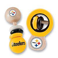 Pittsburgh Steelers Baby Rattle Set