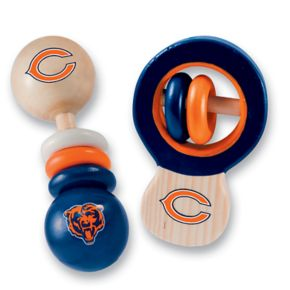 Chicago Bears Baby Rattle Set