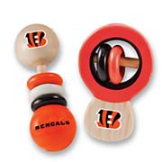 Cincinnati Bengals Baby Rattle Set