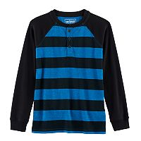 Boys 8-20 Urban Pipeline® Striped Raglan Henley