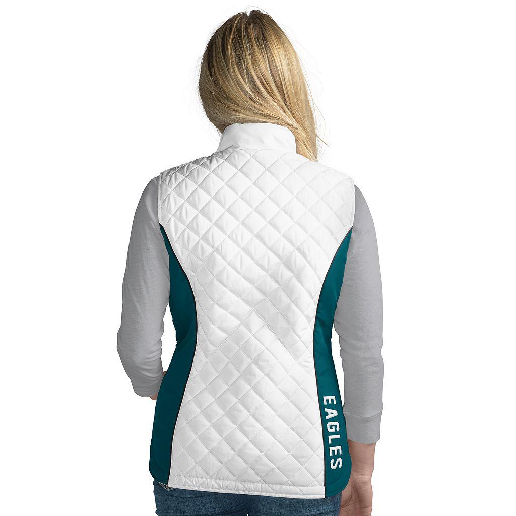 Women's Philadelphia Eagles Tackle Me Quilted Vest