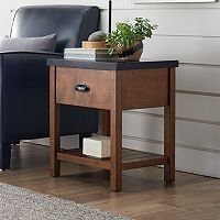 SONOMA Goods for Life™ Preston Wood & Metal End Table