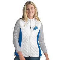 Women's Detroit Lions Tackle Me Quilted Vest