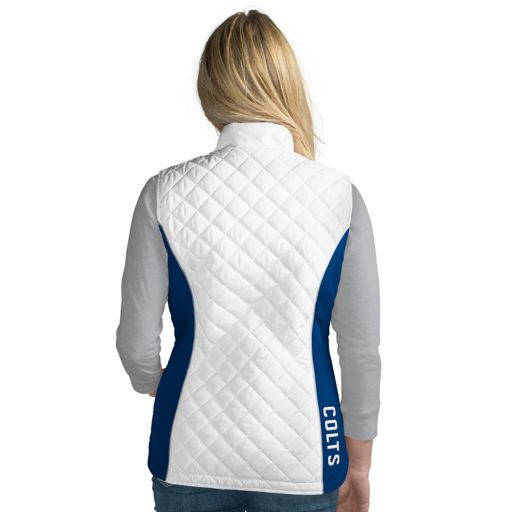 Women's Indianapolis Colts Tackle Me Quilted Vest