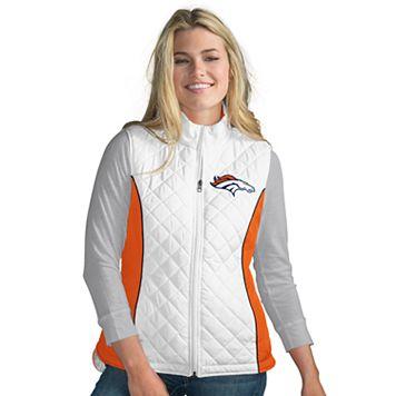 Women's Denver Broncos Tackle Me Quilted Vest