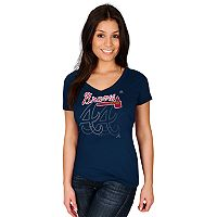Women's Majestic Atlanta Braves Got Him Chasing Tee