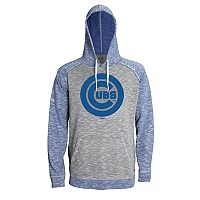 Men's Stitches Chicago Cubs Grayed Out Logo Hoodie