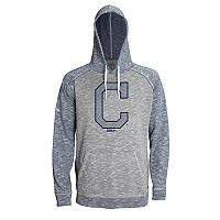 Men's Stitches Cleveland Indians Grayed Out Logo Hoodie