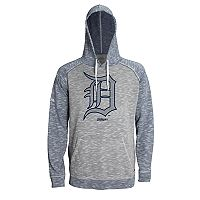 Men's Stitches Detroit Tigers Grayed Out Logo Hoodie