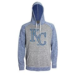 Men's Stitches Kansas City Royals Grayed Out Logo Hoodie