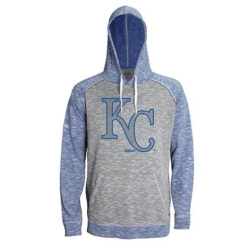 Men's Stitches Kansas City Royals Grayed Out Logo Hoodie