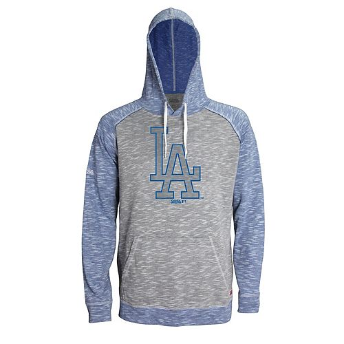 Men's Stitches Los Angeles Dodgers Grayed Out Logo Hoodie