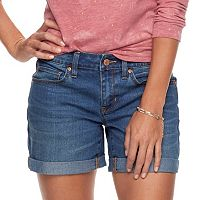 Women's SONOMA Goods for Life™ Cuffed Shorts