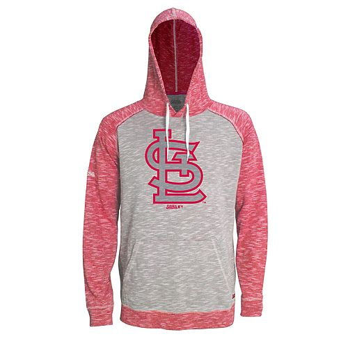 Men's Stitches St. Louis Cardinals Grayed Out Logo Hoodie