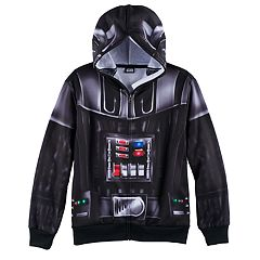Boys 8-20 Star Wars Darth Vader Zip-Front Hoodie