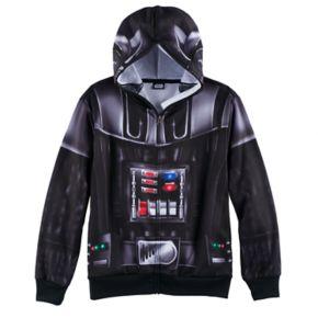 Boys 8-20 Star Wars Darth Vader Zip-Front Hoodie