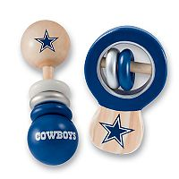 Dallas Cowboys Baby Rattle Set