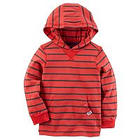 Toddler Boy Carter's Striped Pullover Hoodie