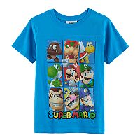 Boys 8-20 Super Mario Bros. Square Tee