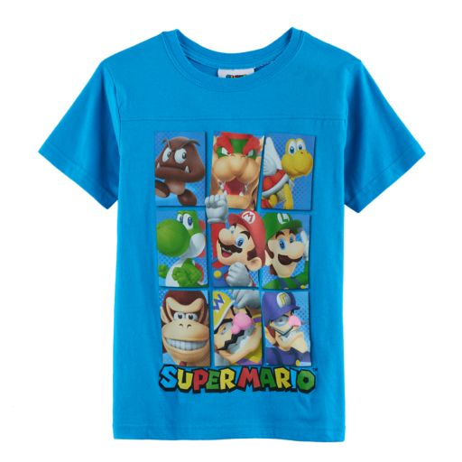 Boys 8-20 Super Mario Bros. Square Tee
