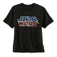 Boys 8-20 Star Wars Lighted Logo Tee