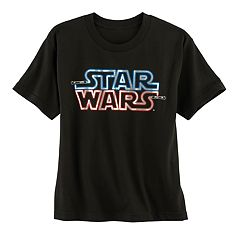 Boys 8-20 Star Wars Lighted Logo Tee
