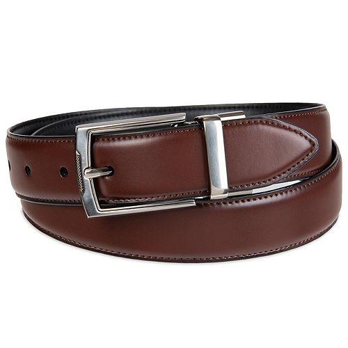 Men's Croft & Barrow® Reversible Feather-Edge Stretch Dress Belt