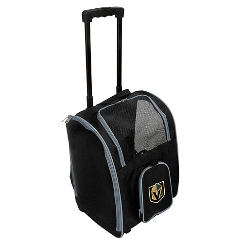 Mojo Vegas Golden Knights Wheeled Pet Carrier